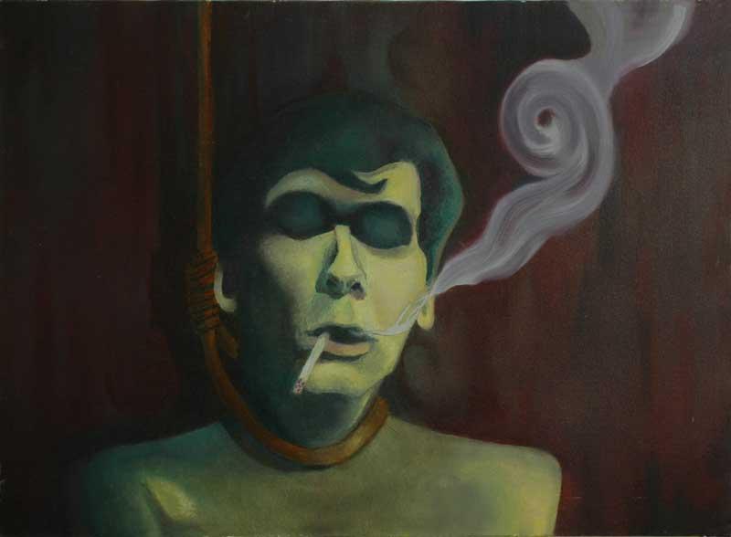 حامد دهنوی / آخرین سیگار